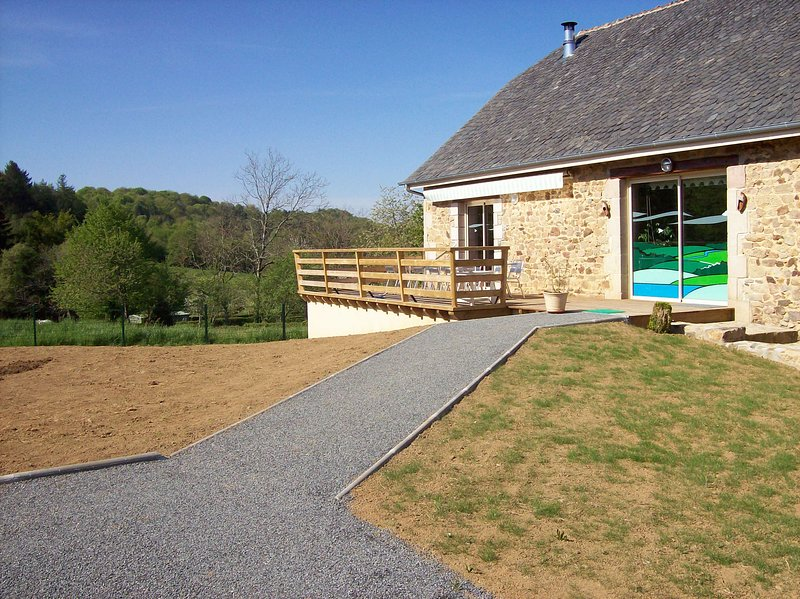 Gîte 12 personnes le monédière, holiday rental in Gros-Chastang