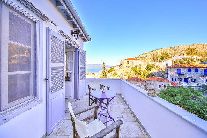 The Maisonette - View Historic Hydra in Comfort!, holiday rental in Hydra