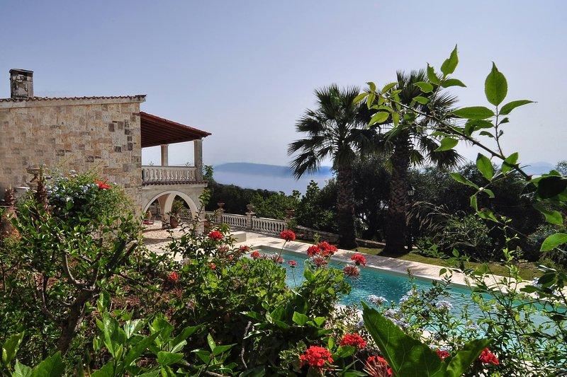 Ionian Garden Villas: Villa Pietra, holiday rental in Dafnata