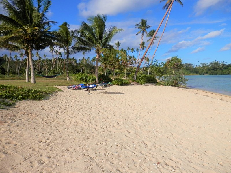 Sigasiga Beach is always here for you. Many beaches disappear at high tide. Not here!