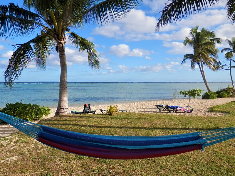 Is that a hammock smiling? Not a bad way to live :-)