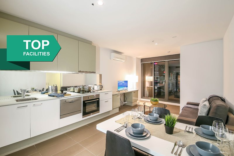 A Fully Furnished Apartment Unit In The Cbd