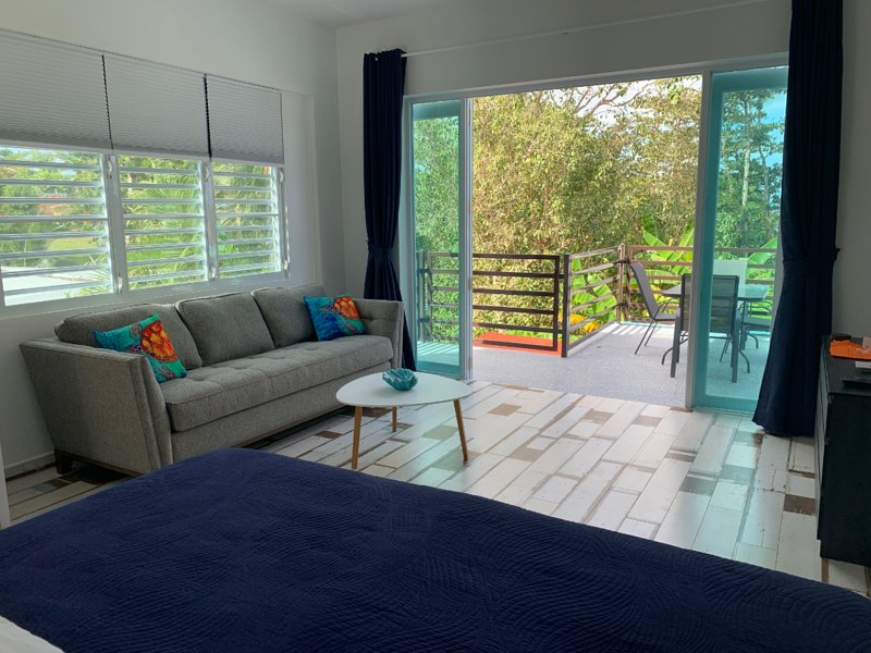 ★ Happy Turtle Loft | Sparkling clean corner loft | Steps to Sandy Beach ★, vacation rental in Puerto Rico