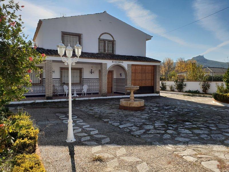 CASA RURAL RIOCORVO, holiday rental in Rute