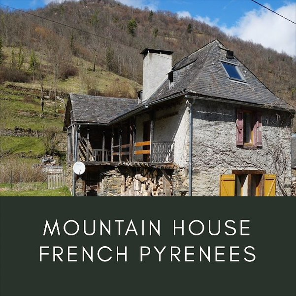 Mountain House French Pyrenees, holiday rental in Buzan