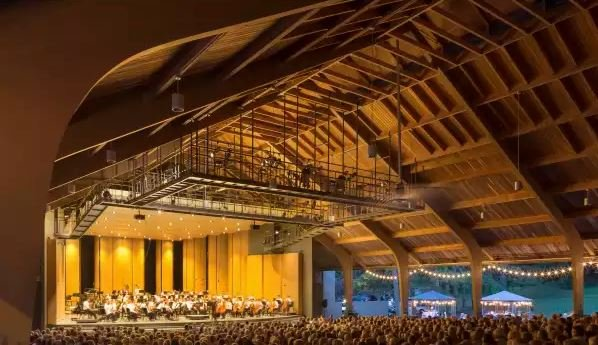 The Brevard Music Center - a must see hosting some of the top talent in the world annually!