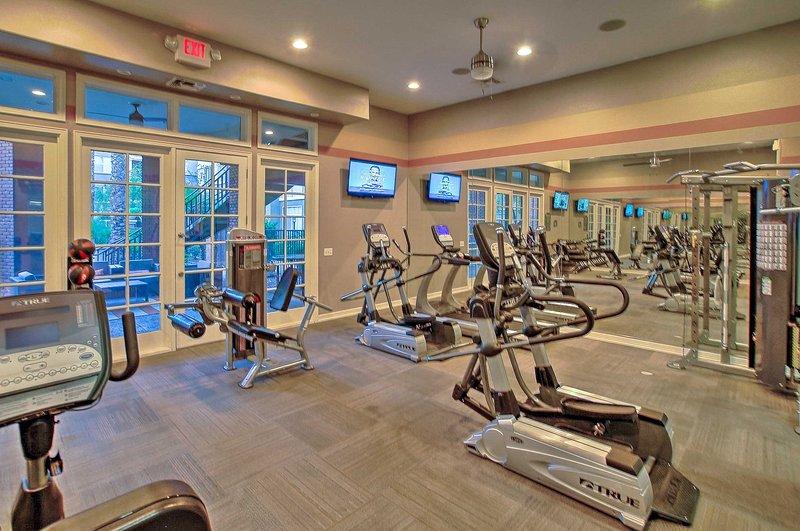 Take advantage of the phenomenal workout facilities on the premises.