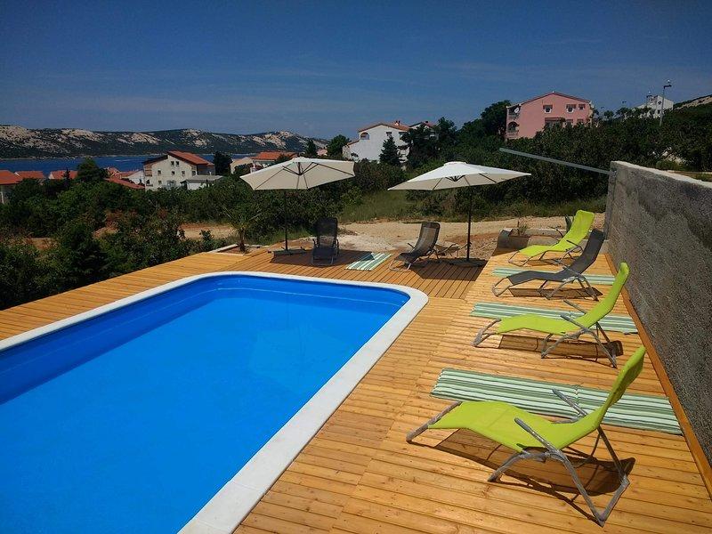 Gumla Pool House, alquiler de vacaciones en Stara Novalja