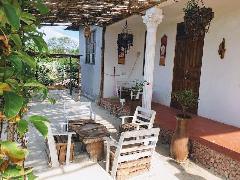 Barabara House (Bedroom 1), holiday rental in Jambiani
