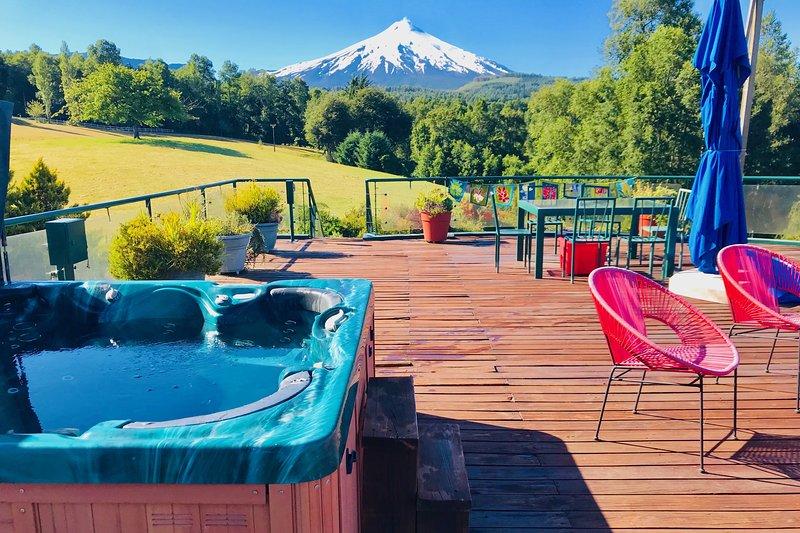 Hot Tub 360 - degree views