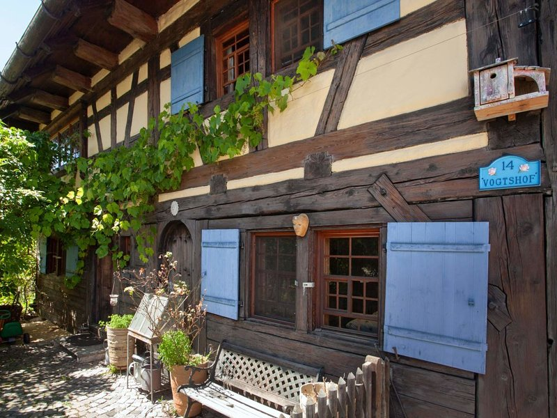 Historic holiday home Vogtshof Rottweil Black Forest – semesterbostad i Deisslingen