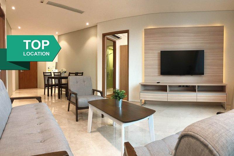 A modern & luxurious interior.