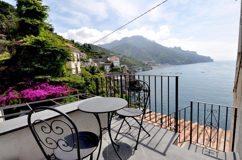 Stella Marina Amalfi Dreams - Sea Front Master Bedroom, alquiler de vacaciones en Ravello