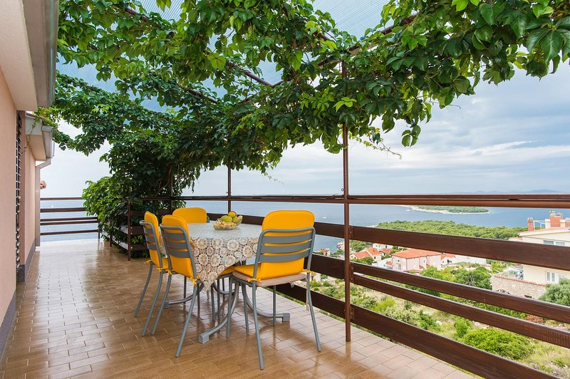 Baselovici Apartment Sleeps 4 with Air Con - 5466052, holiday rental in Primosten Burnji
