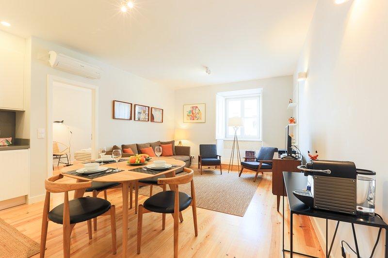 Appartamento confortevole, spazioso ed elegante