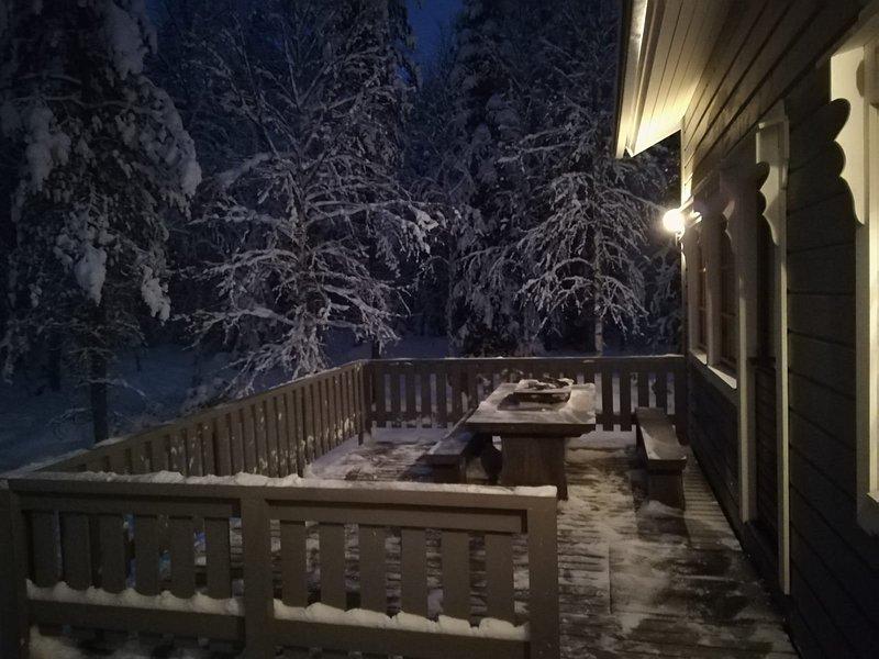 Holiday home Räkki Pirtti, enjoy the real Lapland, alquiler vacacional en Raudanjoki