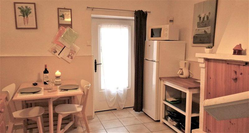 Cozinha / lounge, Guarda-sol Casas de campo