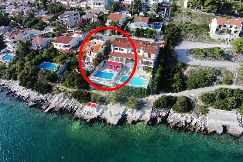 Four bedroom house Seget Vranjica, Trogir (K-10336), vacation rental in Seget Vranjica