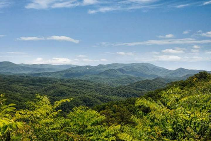 Sky's the Limit with Awesome 180 degree mountain views of the Great Smoky Mountains!