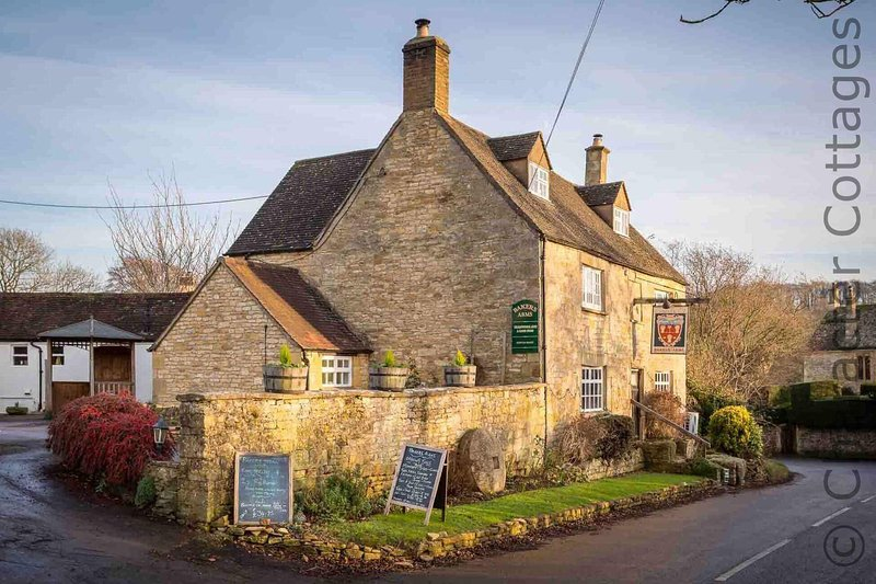 The Bakers Arms, the well-regarded village pub