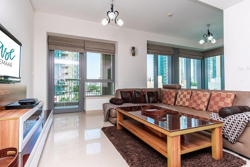 Pearl [Ease by Emaar] | Elegant | Two Bedroom ..., vacation rental in Hatta