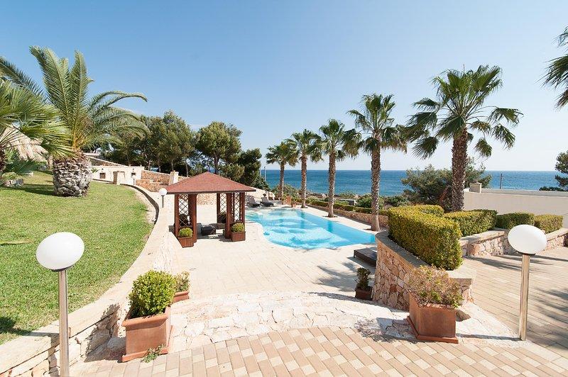 Villa Gregory, casa vacanza a Patù