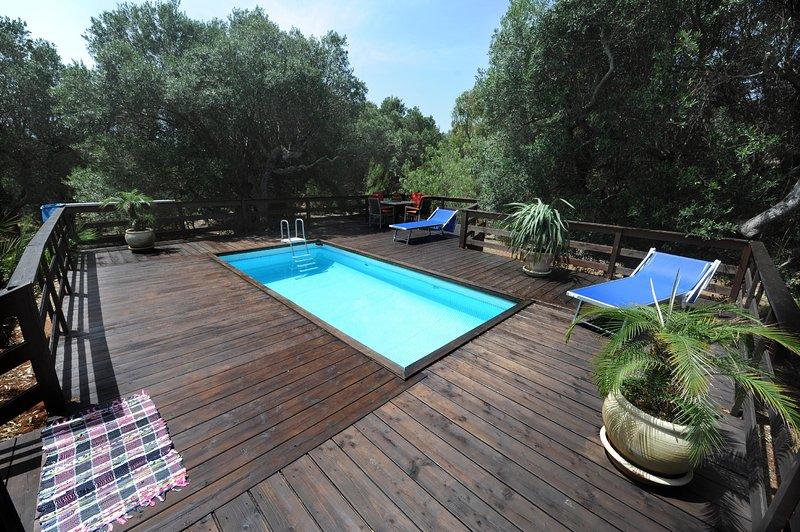 Villa Serena Maria, vacation rental in Marina di Felloniche