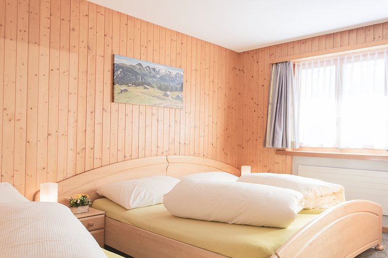 Chalet Viola, Wohnung Erdgeschoss, vacation rental in Tujetsch