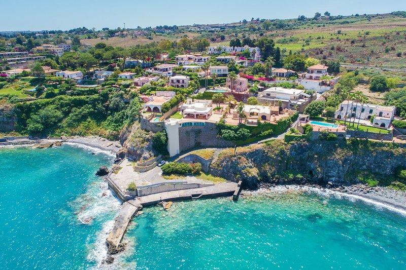 Villa Ina, vacation rental in Agnone Bagni
