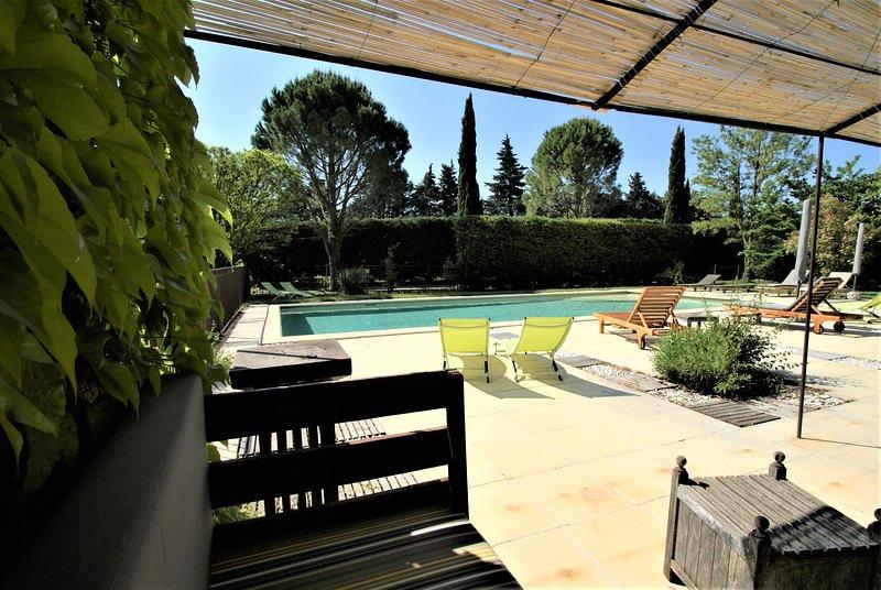 Côté Provence · Gîte de charme 4 **** proche l'Isle sur la Sorgue · Le Ventoux, holiday rental in Saint Saturnin les Avignon
