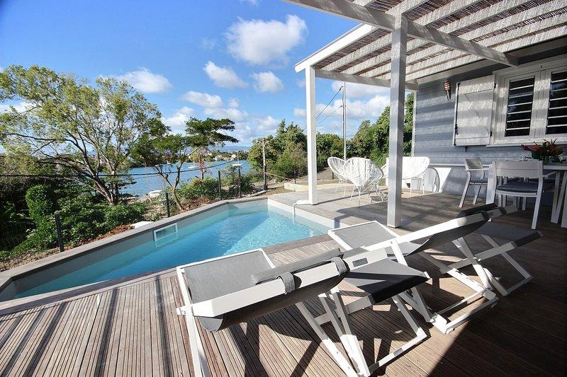 PROMO Aout / Sept / Octobre Villa Baska: belle terrasse avec ...