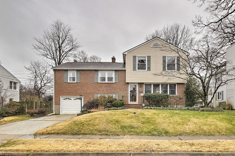 From this family home you're just 9 miles from downtown Baltimore.