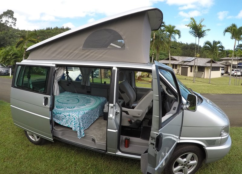 12acc43108 VW Westfalia Campervan RV on Maui -  Hana Honey  UPDATED 2019 ...