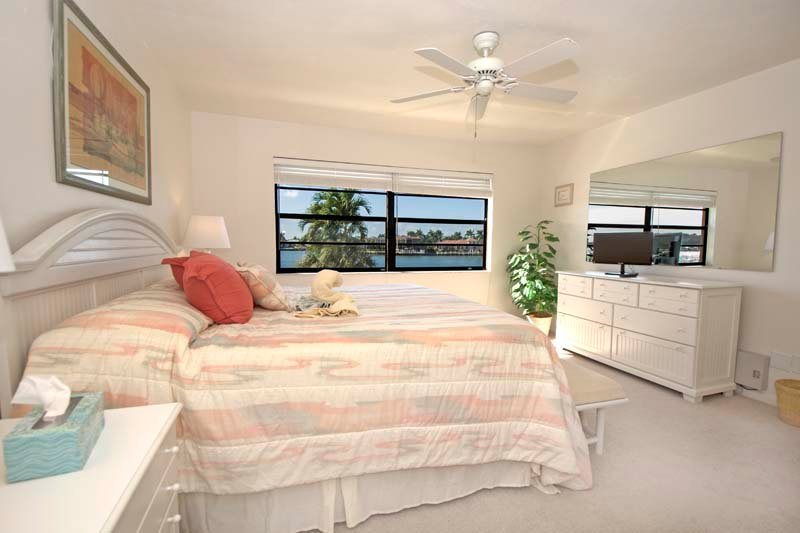 Master Bed with water views