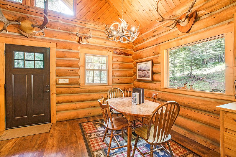 Hunter Log Cabin, casa vacanza a Colburn