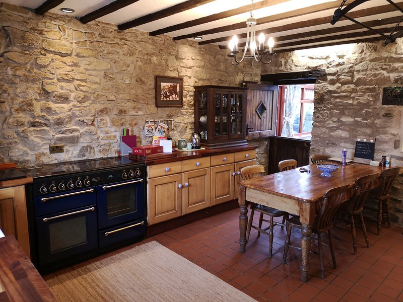 Kitchen Range Cooker twin oven
