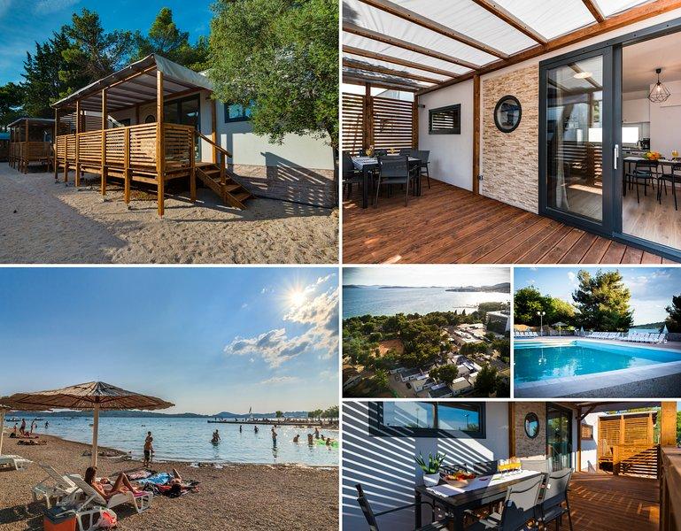 Croatia Camp Mobile Homes -modern, comfortable, fully equipped, sleeps 7, aluguéis de temporada em Vodice
