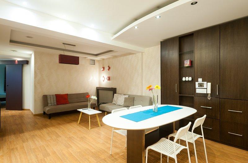 Iktinou Plaza View Apartment, location de vacances à Thessalonique