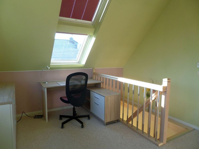 Workplace upstairs