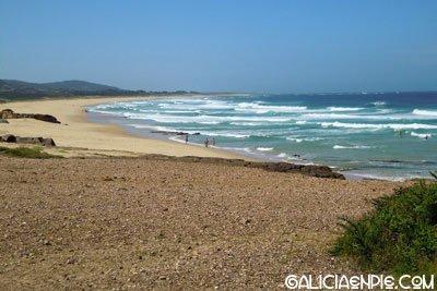 Beach of Furnas, at 14 kmts
