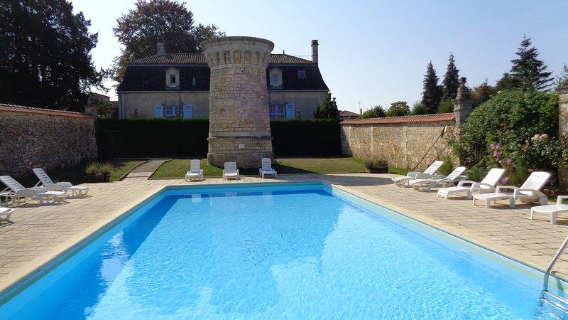 Chateau De Charras Heated Pool
