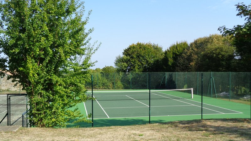 Enjoy a game of tennis!