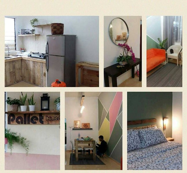 PALLET HOMESTAY CHERATING - UNIT HL01 HIPSTER CONCEPT, vacation rental in Balok