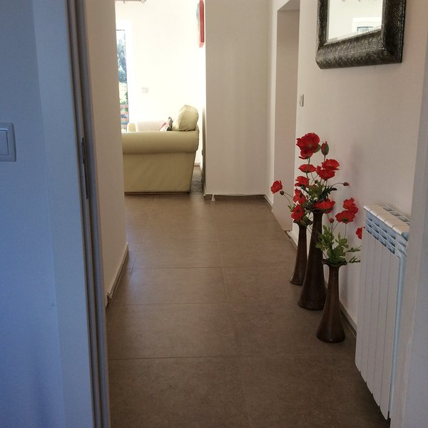 Lovely hallway from sun lounge to 2nd bathroom and 3rd bedroom