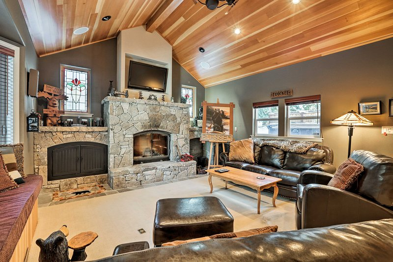 Treat yourself to an alpine adventure in this 4-bedroom, 3.5-bath Truckee home!