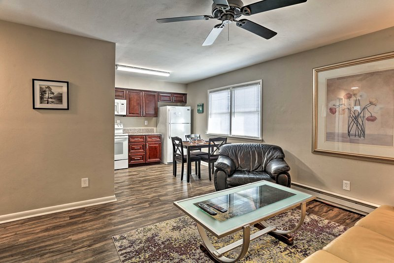 Get away to Norfolk for a coastal vacation at this cozy apartment!