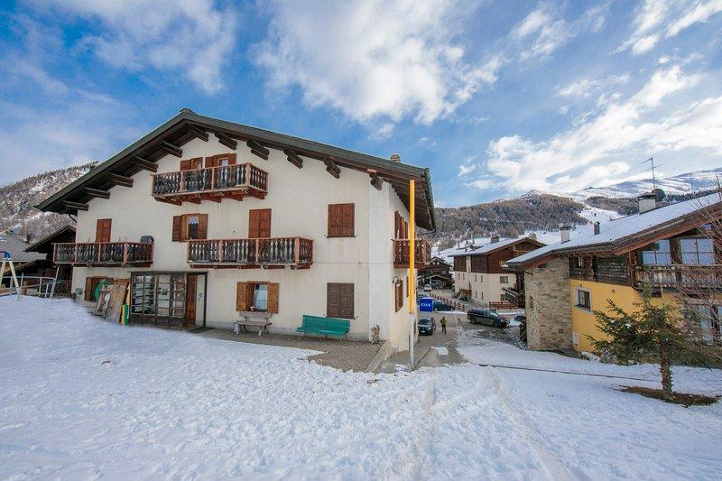 La residencia de esquí