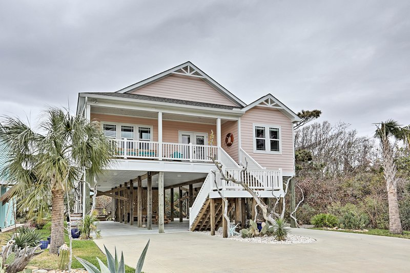 Your Oak Island home-away-from-home awaits you!