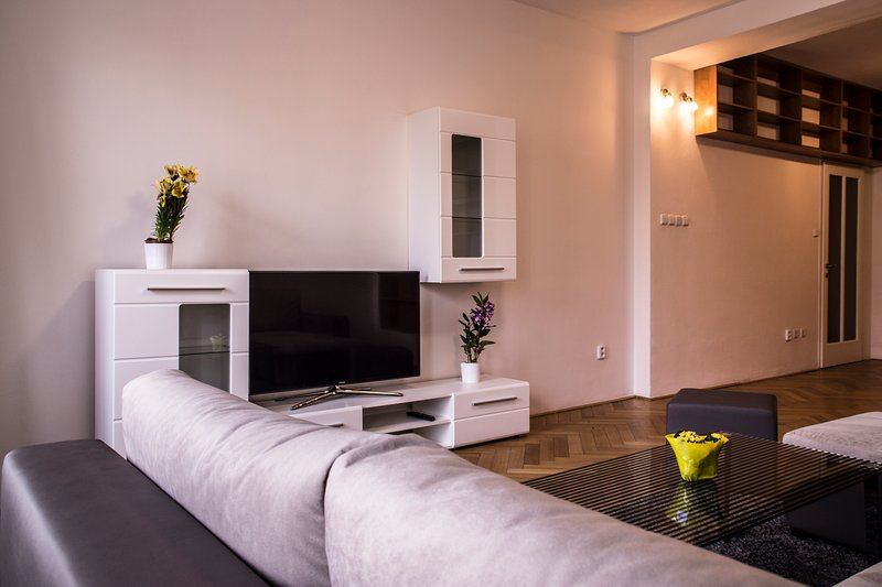 EXCLUSIVE APARTMENT IN THE CENTER WITH RIVER VIEW, holiday rental in Zdiby