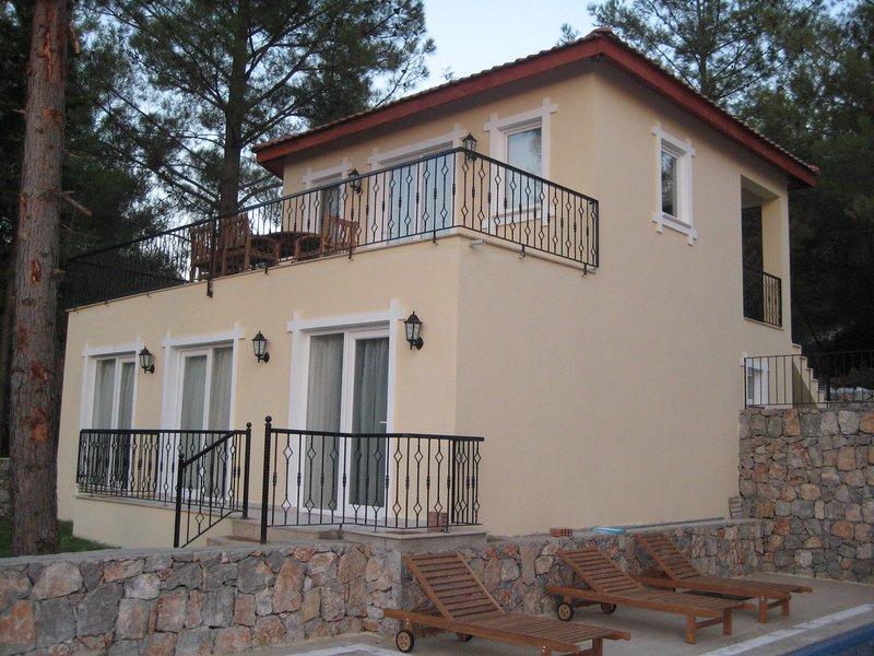 Villa Toshack, delightful 3 bedroom villa with swimming pool adjacent, location de vacances à Yesiluzumlu